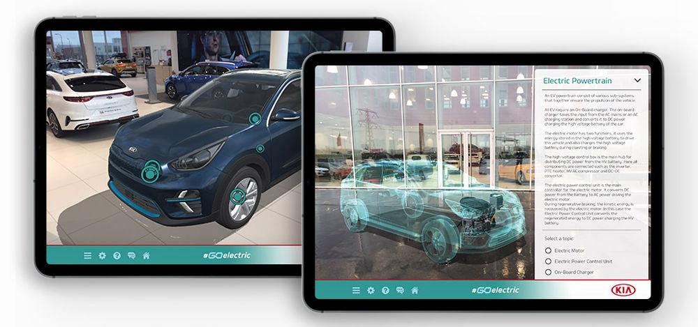 """Kia a lansat o aplicație mobilă pentru promovarea mașinilor electrice: """"Go Electric"""" explică tehnologiile și cum se încarcă bateriile - Poza 2"""