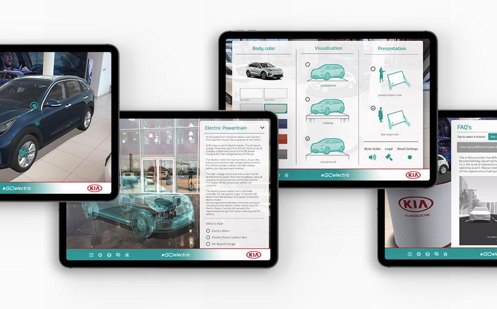 """Kia a lansat o aplicație mobilă pentru promovarea mașinilor electrice: """"Go Electric"""" explică tehnologiile și cum se încarcă bateriile - Poza 3"""