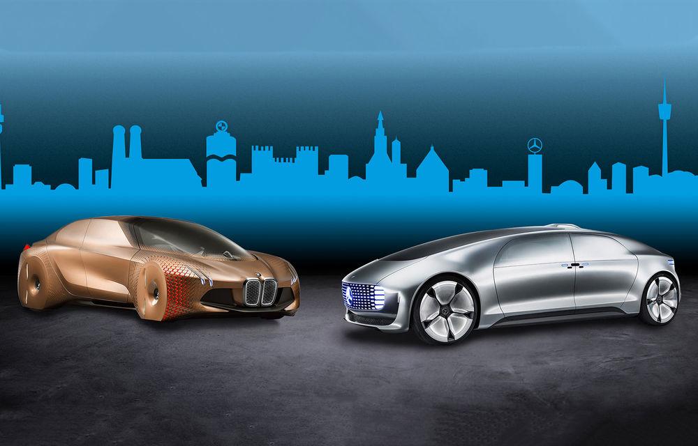 Grupul BMW și Mercedes-Benz pun pauză proiectului comun care viza dezvoltarea unor tehnologii pentru condusul autonom - Poza 1