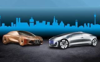 Grupul BMW și Mercedes-Benz pun pauză proiectului comun care viza dezvoltarea unor tehnologii pentru condusul autonom