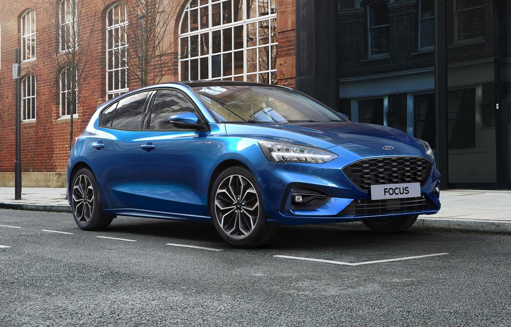 Îmbunătățiri pentru Ford Focus: compacta primește motorizări mild-hybrid de până la 155 CP și instrumentar digital de bord de 12.3 inch - Poza 1