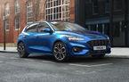 Îmbunătățiri pentru Ford Focus: compacta primește motorizări mild-hybrid de până la 155 CP și instrumentar digital de bord de 12.3 inch