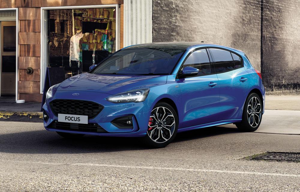 Îmbunătățiri pentru Ford Focus: compacta primește motorizări mild-hybrid de până la 155 CP și instrumentar digital de bord de 12.3 inch - Poza 2