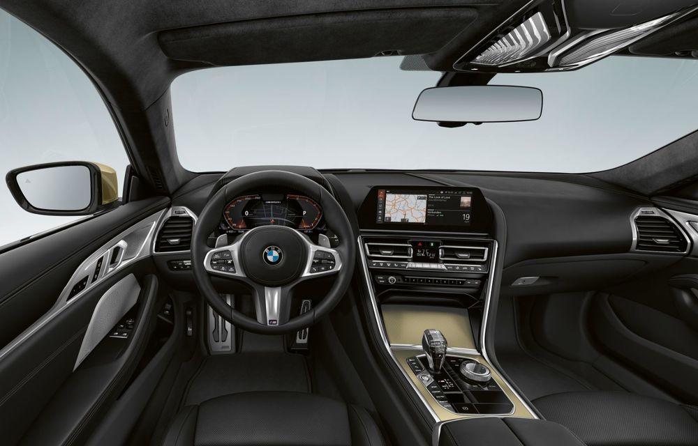 Ediție specială pentru gama BMW Seria 8: nemții lansează Golden Thunder Edition cu elemente aurii de caroserie - Poza 4