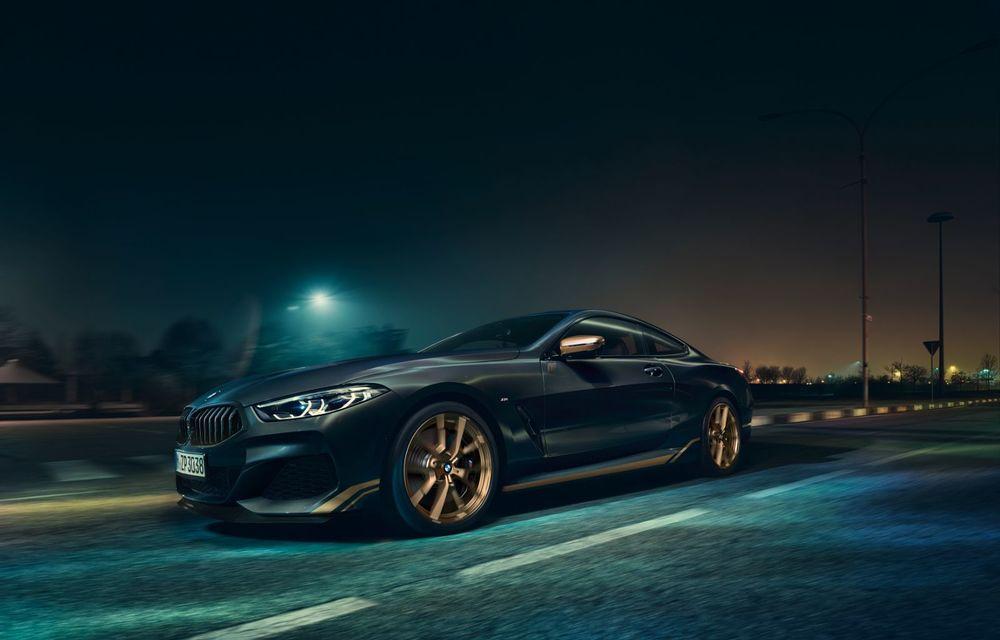 Ediție specială pentru gama BMW Seria 8: nemții lansează Golden Thunder Edition cu elemente aurii de caroserie - Poza 2