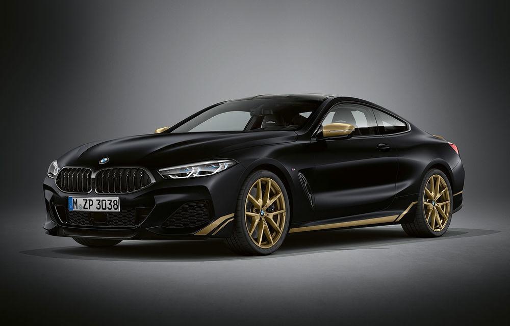 Ediție specială pentru gama BMW Seria 8: nemții lansează Golden Thunder Edition cu elemente aurii de caroserie - Poza 1