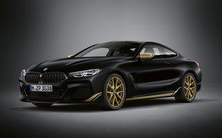Ediție specială pentru gama BMW Seria 8: nemții lansează Golden Thunder Edition cu elemente aurii de caroserie
