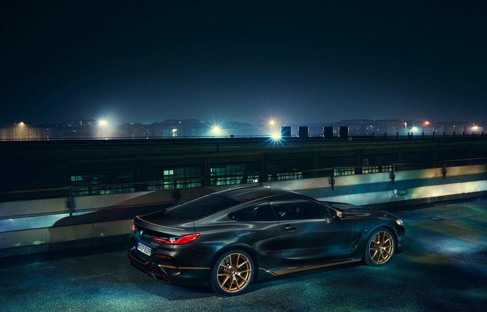 Ediție specială pentru gama BMW Seria 8: nemții lansează Golden Thunder Edition cu elemente aurii de caroserie - Poza 3