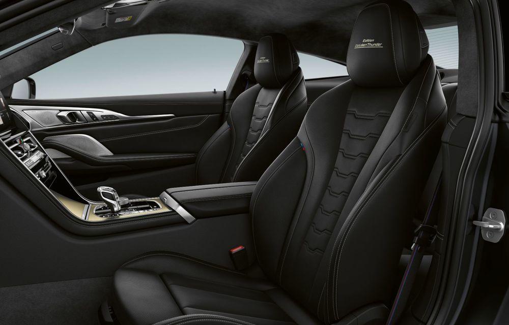 Ediție specială pentru gama BMW Seria 8: nemții lansează Golden Thunder Edition cu elemente aurii de caroserie - Poza 5
