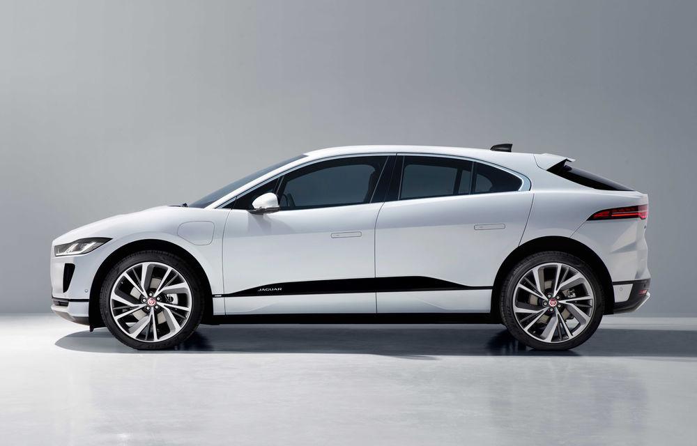 SUV-ul electric Jaguar I-Pace primește îmbunătățiri: sistem de infotainment de 12.3 inch și încărcare cu până la 11 kW la wall-box-uri casnice - Poza 7