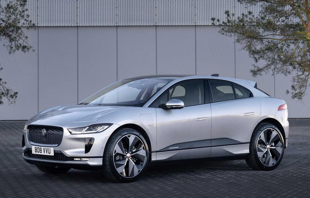 SUV-ul electric Jaguar I-Pace primește îmbunătățiri: sistem de infotainment de 12.3 inch și încărcare cu până la 11 kW la wall-box-uri casnice - Poza 14
