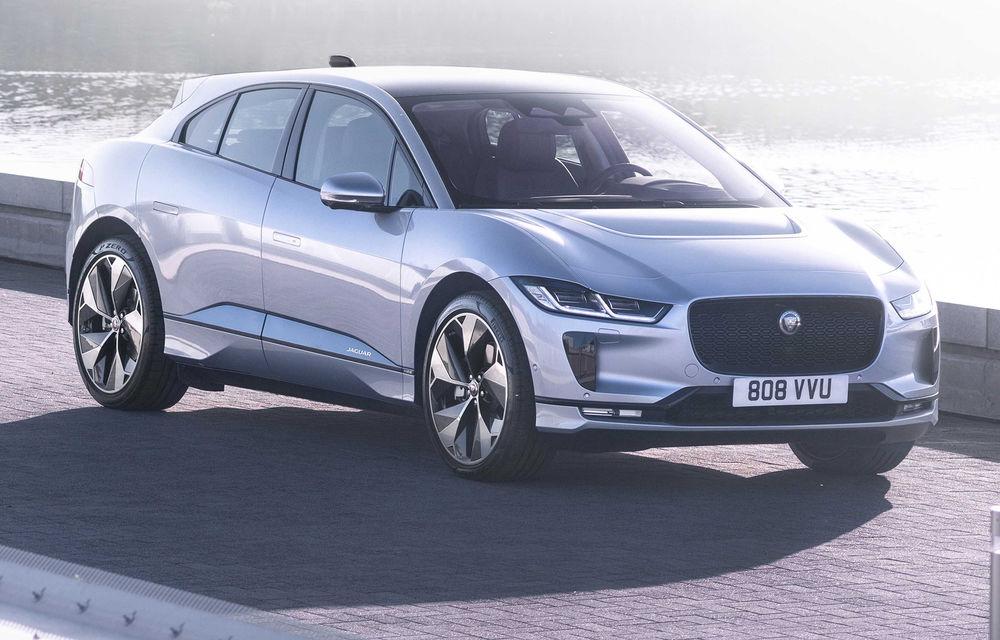 SUV-ul electric Jaguar I-Pace primește îmbunătățiri: sistem de infotainment de 12.3 inch și încărcare cu până la 11 kW la wall-box-uri casnice - Poza 10