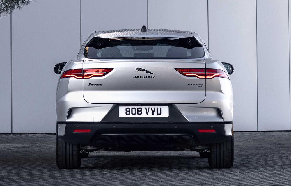 SUV-ul electric Jaguar I-Pace primește îmbunătățiri: sistem de infotainment de 12.3 inch și încărcare cu până la 11 kW la wall-box-uri casnice - Poza 8