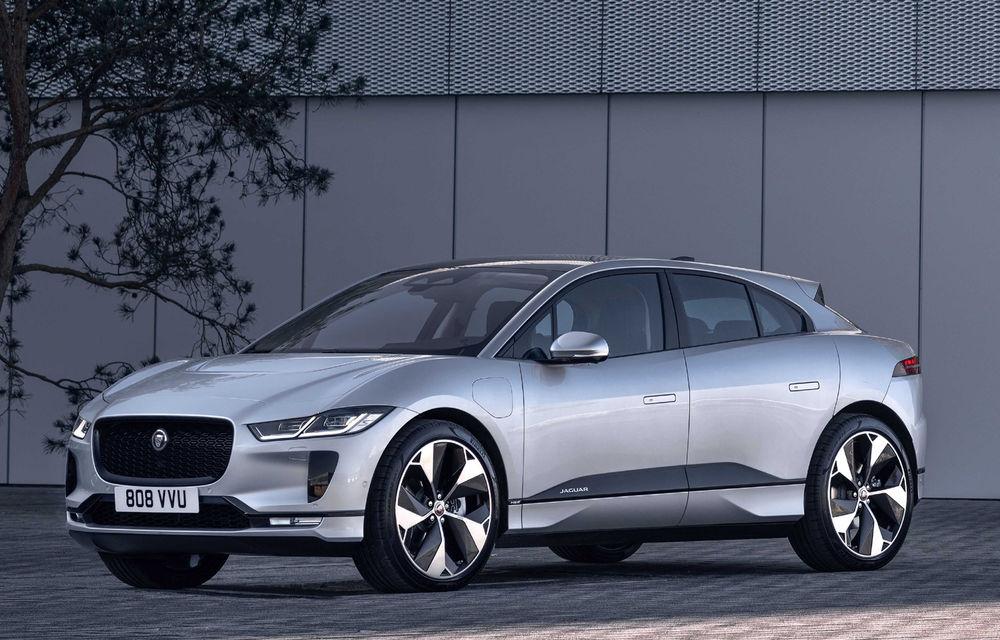 SUV-ul electric Jaguar I-Pace primește îmbunătățiri: sistem de infotainment de 12.3 inch și încărcare cu până la 11 kW la wall-box-uri casnice - Poza 16
