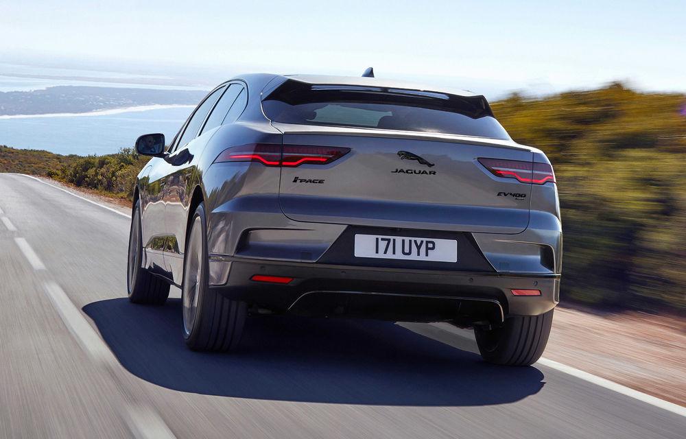 SUV-ul electric Jaguar I-Pace primește îmbunătățiri: sistem de infotainment de 12.3 inch și încărcare cu până la 11 kW la wall-box-uri casnice - Poza 3