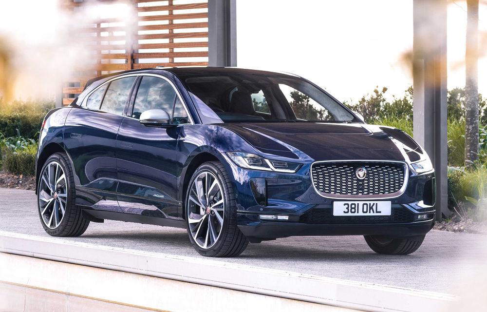 SUV-ul electric Jaguar I-Pace primește îmbunătățiri: sistem de infotainment de 12.3 inch și încărcare cu până la 11 kW la wall-box-uri casnice - Poza 23