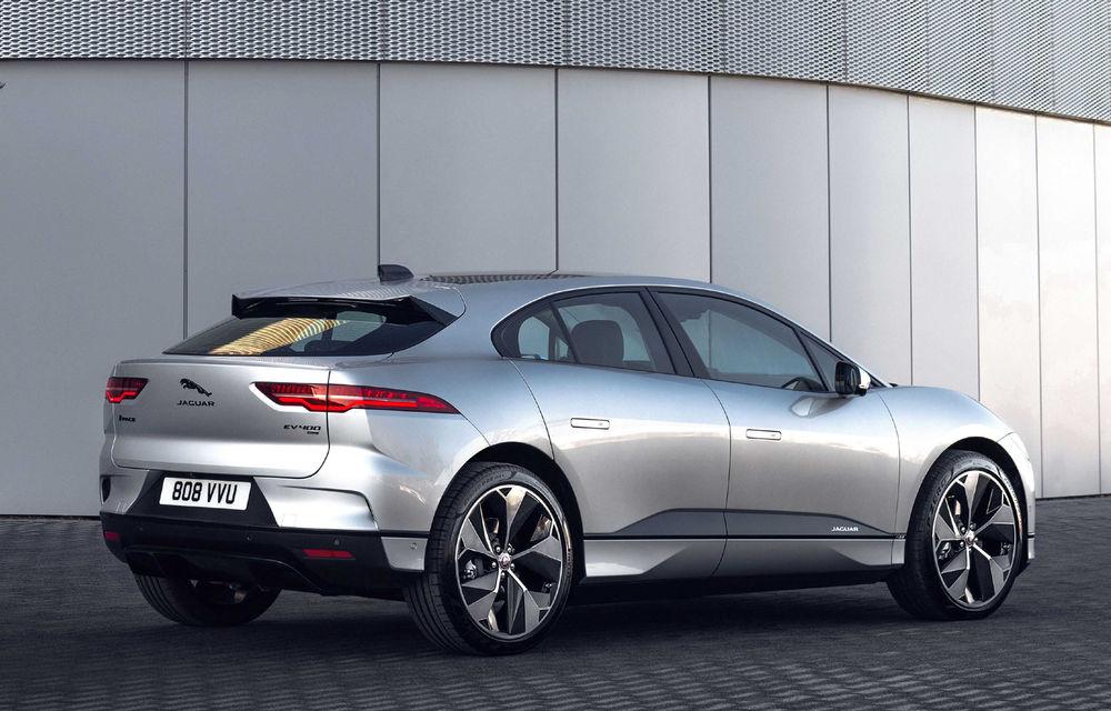 SUV-ul electric Jaguar I-Pace primește îmbunătățiri: sistem de infotainment de 12.3 inch și încărcare cu până la 11 kW la wall-box-uri casnice - Poza 17