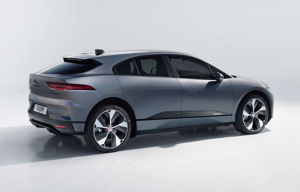 SUV-ul electric Jaguar I-Pace primește îmbunătățiri: sistem de infotainment de 12.3 inch și încărcare cu până la 11 kW la wall-box-uri casnice - Poza 5