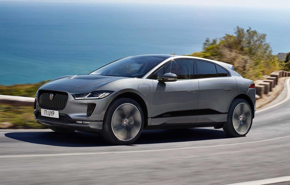 SUV-ul electric Jaguar I-Pace primește îmbunătățiri: sistem de infotainment de 12.3 inch și încărcare cu până la 11 kW la wall-box-uri casnice - Poza 1