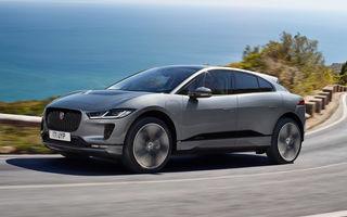 SUV-ul electric Jaguar I-Pace primește îmbunătățiri: sistem de infotainment de 12.3 inch și încărcare cu până la 11 kW la wall-box-uri casnice