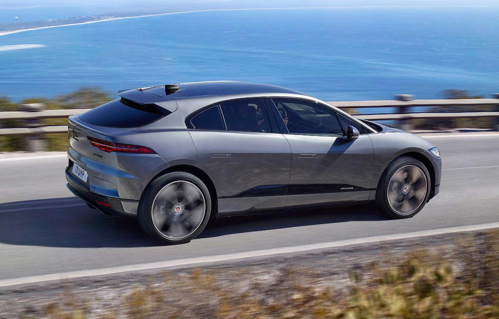 SUV-ul electric Jaguar I-Pace primește îmbunătățiri: sistem de infotainment de 12.3 inch și încărcare cu până la 11 kW la wall-box-uri casnice - Poza 2