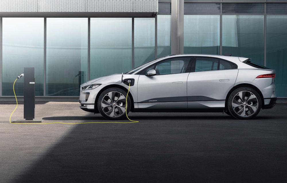 SUV-ul electric Jaguar I-Pace primește îmbunătățiri: sistem de infotainment de 12.3 inch și încărcare cu până la 11 kW la wall-box-uri casnice - Poza 4