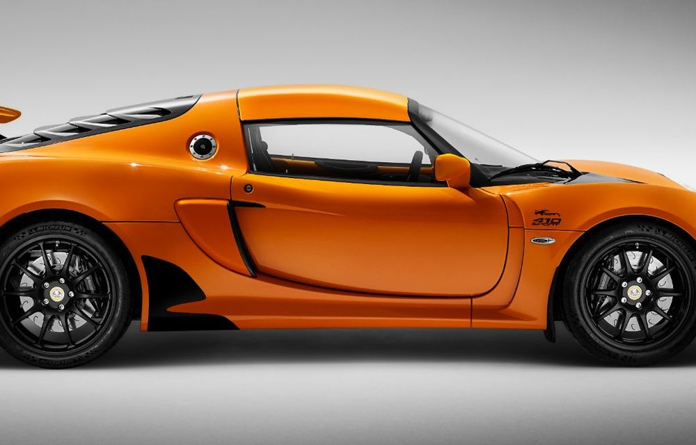 Lotus Exige împlinește 20 de ani de la debut: britanicii au pregătit o ediție aniversară dezvoltată pe baza versiunii Exige Sport 410 - Poza 9