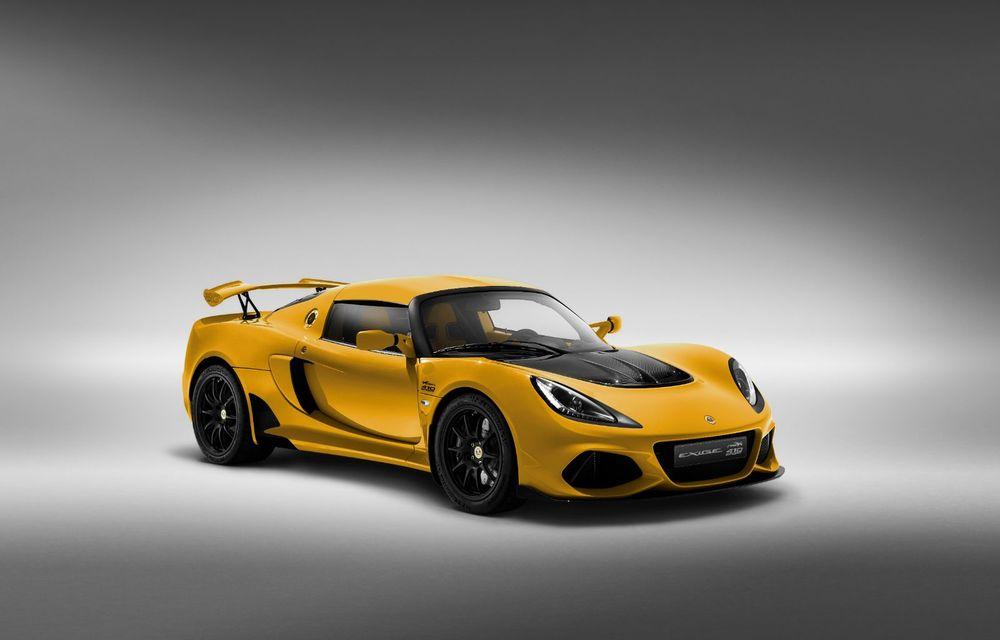 Lotus Exige împlinește 20 de ani de la debut: britanicii au pregătit o ediție aniversară dezvoltată pe baza versiunii Exige Sport 410 - Poza 2