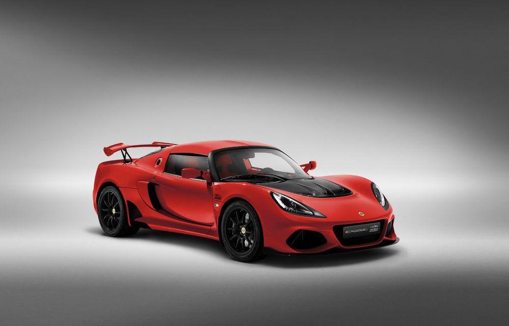 Lotus Exige împlinește 20 de ani de la debut: britanicii au pregătit o ediție aniversară dezvoltată pe baza versiunii Exige Sport 410 - Poza 5