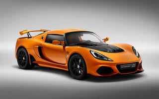 Lotus Exige împlinește 20 de ani de la debut: britanicii au pregătit o ediție aniversară dezvoltată pe baza versiunii Exige Sport 410