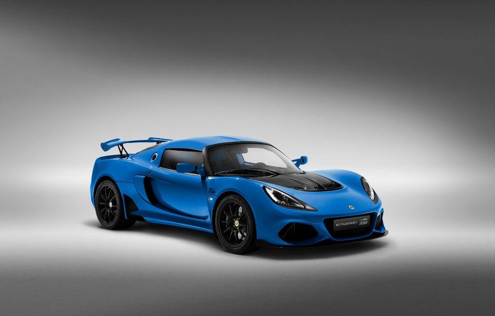 Lotus Exige împlinește 20 de ani de la debut: britanicii au pregătit o ediție aniversară dezvoltată pe baza versiunii Exige Sport 410 - Poza 6