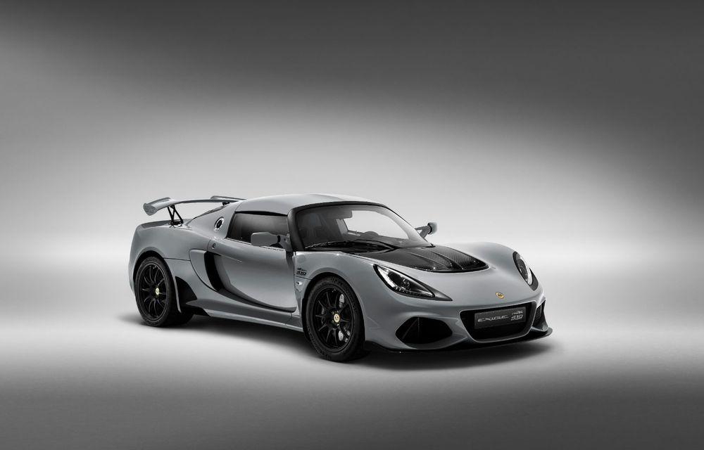 Lotus Exige împlinește 20 de ani de la debut: britanicii au pregătit o ediție aniversară dezvoltată pe baza versiunii Exige Sport 410 - Poza 4