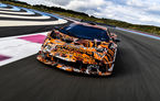 Primele imagini camuflate cu viitorul Lamborghini SCV12: hypercar-ul dezvoltat de divizia Squadra Corse va fi echipat cu cel mai puternic motor V12 din istoria companiei