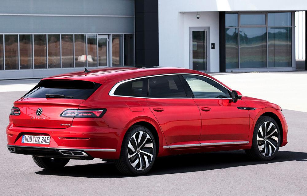 Volkswagen prezintă Arteon facelift și primul Arteon Shooting Brake: gama include o variantă plug-in hybrid de 218 CP și versiune de performanță de 320 CP - Poza 104