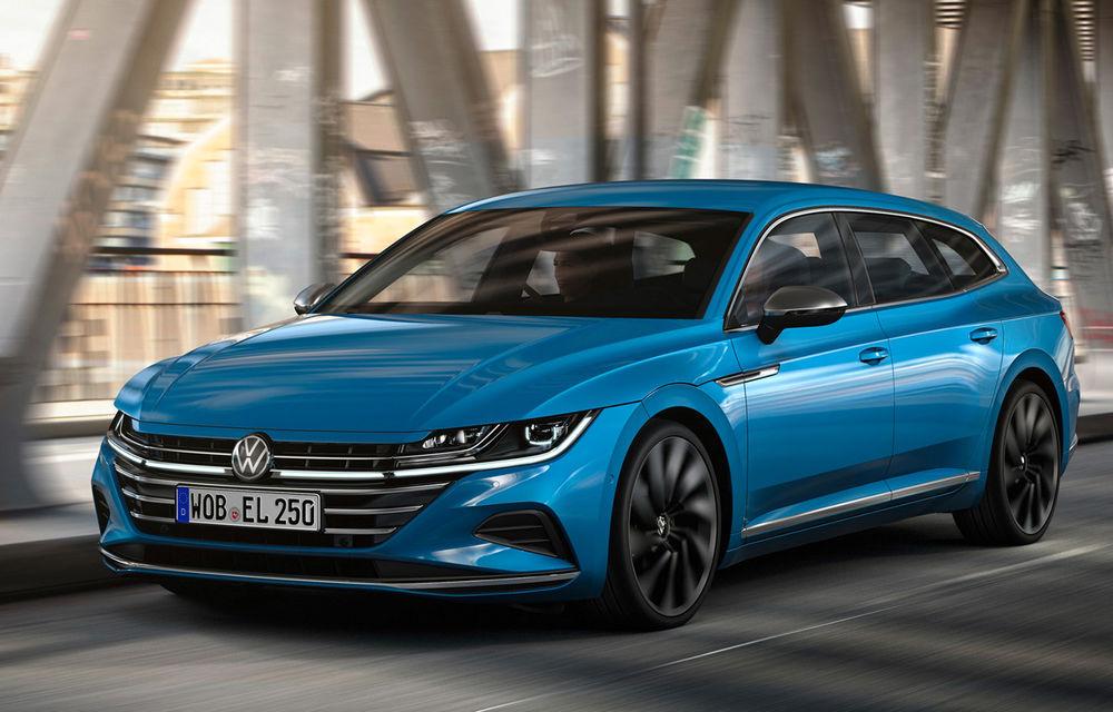 Volkswagen prezintă Arteon facelift și primul Arteon Shooting Brake: gama include o variantă plug-in hybrid de 218 CP și versiune de performanță de 320 CP - Poza 89