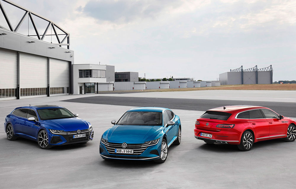 Volkswagen prezintă Arteon facelift și primul Arteon Shooting Brake: gama include o variantă plug-in hybrid de 218 CP și versiune de performanță de 320 CP - Poza 116