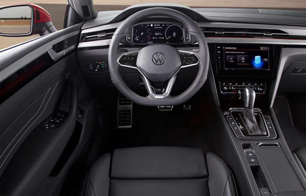 Volkswagen prezintă Arteon facelift și primul Arteon Shooting Brake: gama include o variantă plug-in hybrid de 218 CP și versiune de performanță de 320 CP - Poza 115