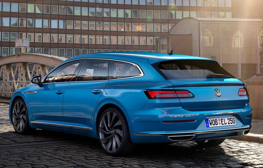 Volkswagen prezintă Arteon facelift și primul Arteon Shooting Brake: gama include o variantă plug-in hybrid de 218 CP și versiune de performanță de 320 CP - Poza 78