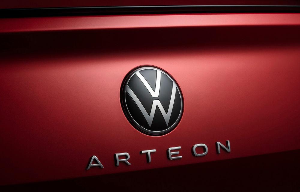 Volkswagen prezintă Arteon facelift și primul Arteon Shooting Brake: gama include o variantă plug-in hybrid de 218 CP și versiune de performanță de 320 CP - Poza 21