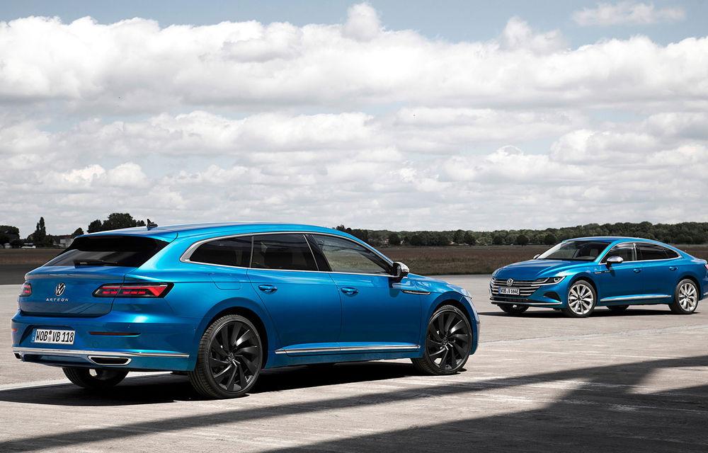 Volkswagen prezintă Arteon facelift și primul Arteon Shooting Brake: gama include o variantă plug-in hybrid de 218 CP și versiune de performanță de 320 CP - Poza 45