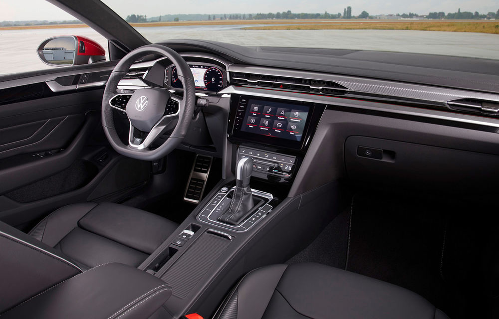 Volkswagen prezintă Arteon facelift și primul Arteon Shooting Brake: gama include o variantă plug-in hybrid de 218 CP și versiune de performanță de 320 CP - Poza 34