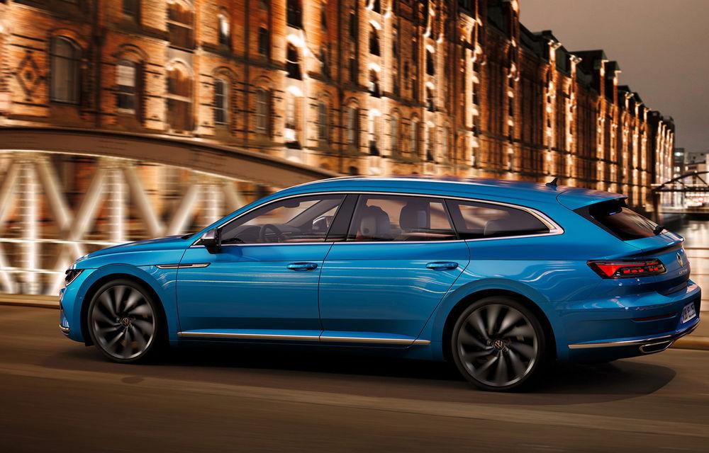Volkswagen prezintă Arteon facelift și primul Arteon Shooting Brake: gama include o variantă plug-in hybrid de 218 CP și versiune de performanță de 320 CP - Poza 90