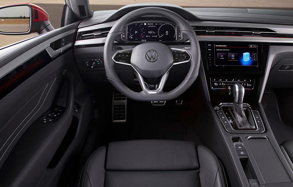 Volkswagen prezintă Arteon facelift și primul Arteon Shooting Brake: gama include o variantă plug-in hybrid de 218 CP și versiune de performanță de 320 CP - Poza 110