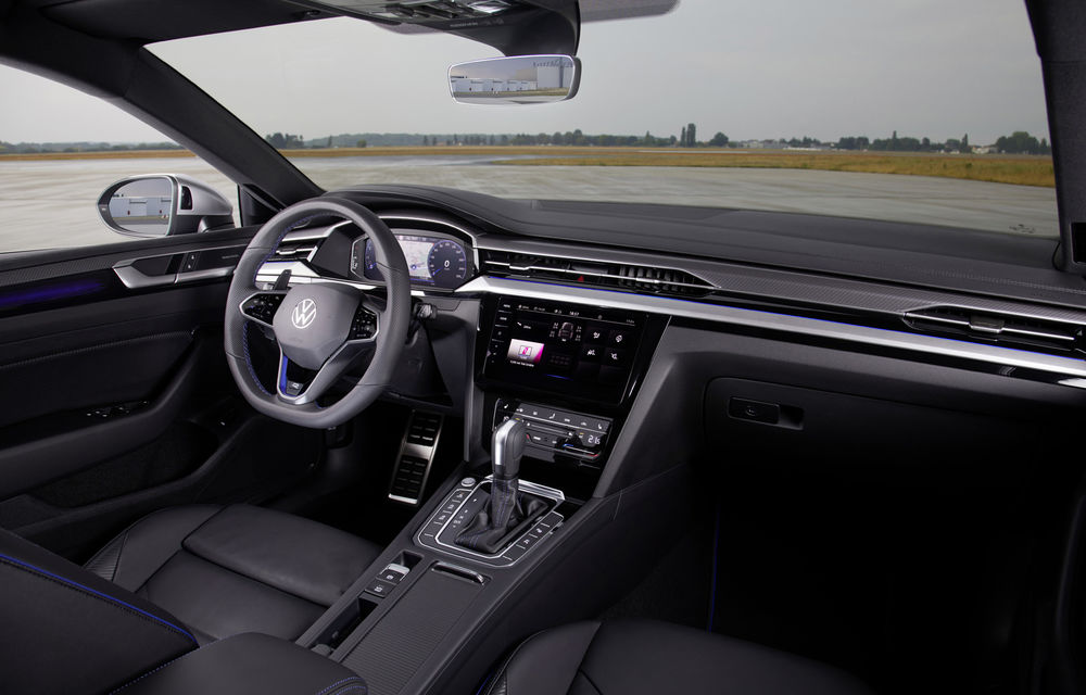 Volkswagen prezintă Arteon facelift și primul Arteon Shooting Brake: gama include o variantă plug-in hybrid de 218 CP și versiune de performanță de 320 CP - Poza 136