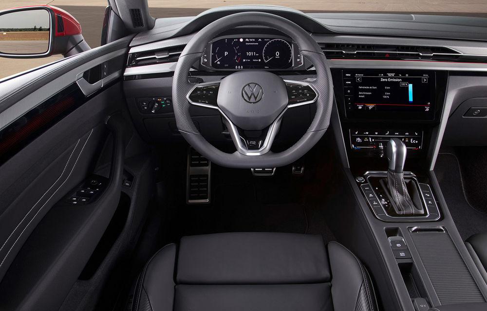 Volkswagen prezintă Arteon facelift și primul Arteon Shooting Brake: gama include o variantă plug-in hybrid de 218 CP și versiune de performanță de 320 CP - Poza 107