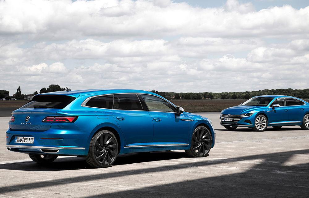 Volkswagen prezintă Arteon facelift și primul Arteon Shooting Brake: gama include o variantă plug-in hybrid de 218 CP și versiune de performanță de 320 CP - Poza 79