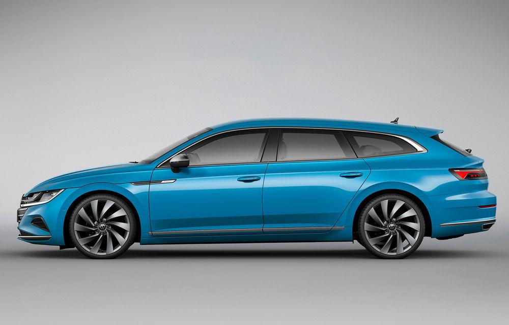 Volkswagen prezintă Arteon facelift și primul Arteon Shooting Brake: gama include o variantă plug-in hybrid de 218 CP și versiune de performanță de 320 CP - Poza 87