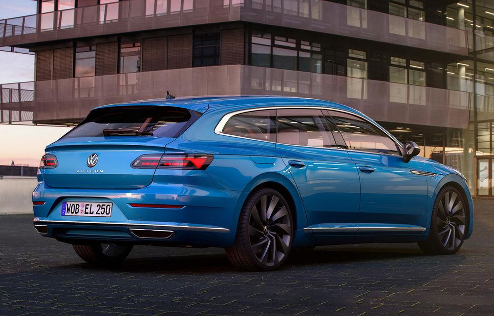 Volkswagen prezintă Arteon facelift și primul Arteon Shooting Brake: gama include o variantă plug-in hybrid de 218 CP și versiune de performanță de 320 CP - Poza 81