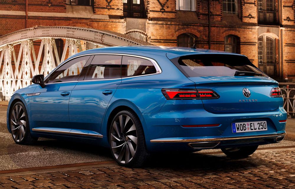 Volkswagen prezintă Arteon facelift și primul Arteon Shooting Brake: gama include o variantă plug-in hybrid de 218 CP și versiune de performanță de 320 CP - Poza 91