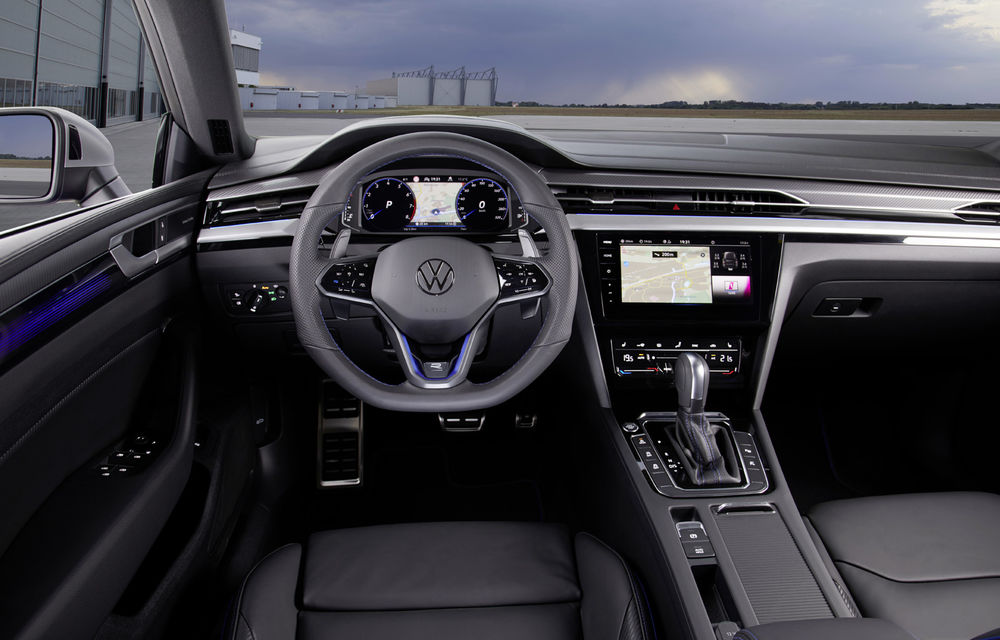Volkswagen prezintă Arteon facelift și primul Arteon Shooting Brake: gama include o variantă plug-in hybrid de 218 CP și versiune de performanță de 320 CP - Poza 135